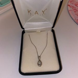 KAY JEWELERS Diamonds in Rhythm Infinity Necklace